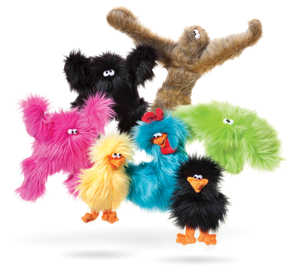 Squeaky Toys: Soft, Plush and/or Fluffy