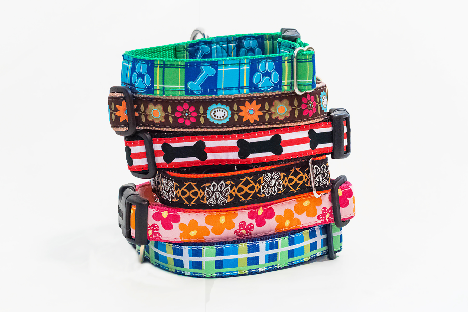 "Designer Dog Collars in 5/8"" & 1"" Widths"