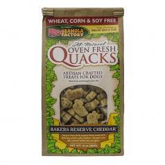 Treats: Quacks Bakers Reserve Cheddar