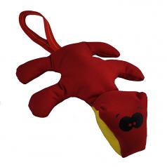 Dog Toy: Diggity Dog Cordura Squeaker Dog Toy