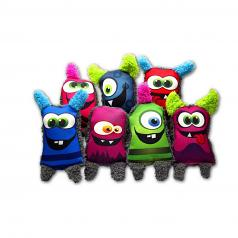 Dog Toy:  Cycle Dog Duraplush Monster Dog Toy