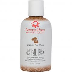 Spa Ear Care:  Aroma Paws Organic Ear Wash