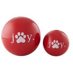 Dog Toy: Holiday Joy Ball