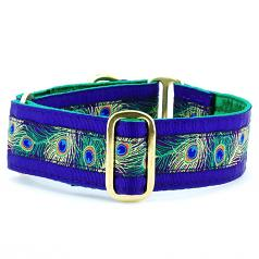 "Dog Collars:  Paradise Found Plum 1.5"" Wide"