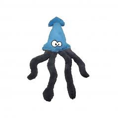 Dog Toy:  Cycle Dog Duraplush Squid Dog Toy