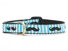 Up Country Cat Collar: Mustache