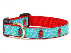 "Dog Collars: 5/8"" or 1"" Wide Hydrant Collar"