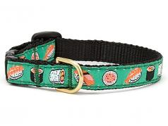 "Dog Collars: 5/8"" or 1"" Wide Sushi Clip Collar"