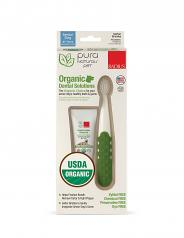 Spa Dental: Canine Dental Toothbrush & Organic Gel Kit Senior Dogs