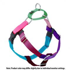 "KALEIDOSCOPE ""Girl/Bright"" Colors Multi-colored Freedom No-Pull Harness"