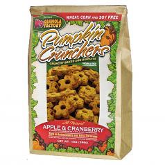 Treats: K-9 Granola Apple & Cranberries Crunchers 14 oz Bag