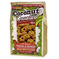 Treats: K-9 Granola Papaya & Mango Crunchers 14 oz Bag