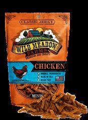 Treats: Minis Classic Jerky Chicken
