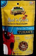 Cat Treats: Meat 'N Greets Turkey