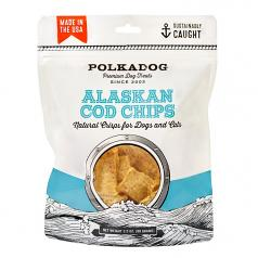 Treats:  PolkaDog 100% Cod Chips