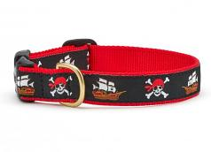 """Dog Collars: 5/8"""" or 1"""" Wide Pirate Clip Collar"""