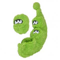 Dog Toy:  Cycle Dog Duraplush 3 Peas in a Pod