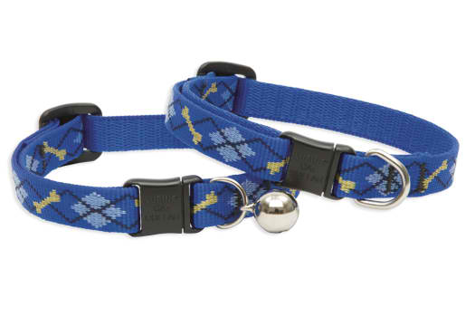 Lupine Cat Collar: Pattern Dapper Dog with or without a bell