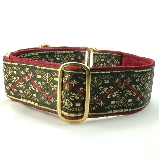 "Dog Collars:  Chancellor 1.5"" Wide"