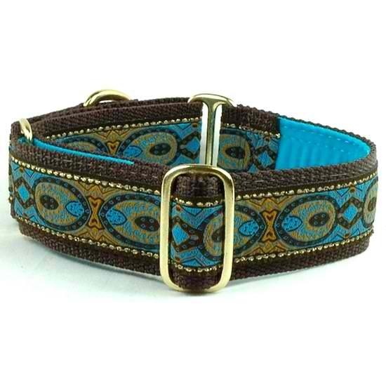 "Dog Collars:  Peacock 1.5"" Wide"