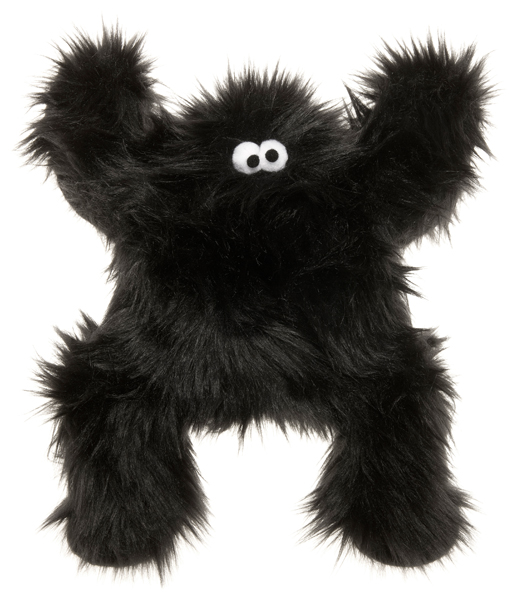Dog Toy: Boogey Squeaker toy in Pink or Black