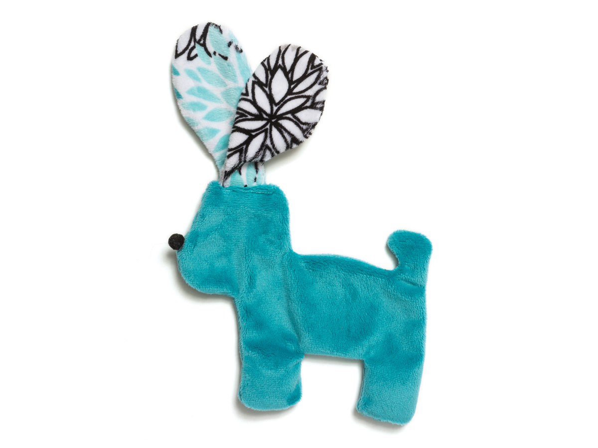 Dog Toy: Floppy Dog Unstuffed Squeaker Toy Available in 2 Sizes
