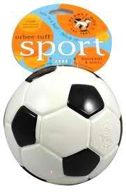 Dog Toy: Soccer Ball Orbee Tuff by Planet Dog
