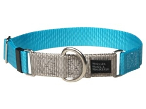 """Dog Collars:  Martingale 1"""" AND 5/8"""" Widths Available in 19 Colors"""