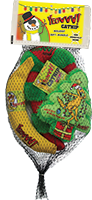 Cat Toy:  Holiday Kris Krinkle Bundle 4-Pack Organic Catnip Toys
