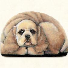 Pupper Weight Cocker Spaniel: Soft Weighted Fabric Beanie