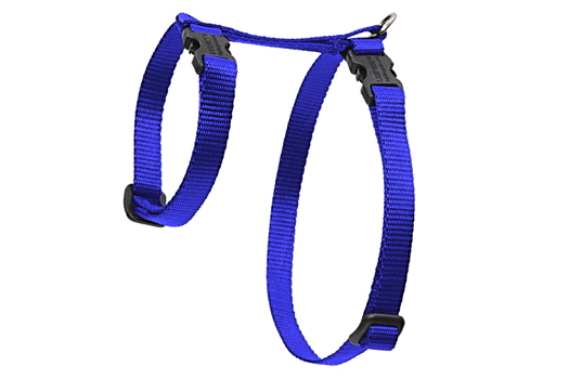 Lupine Cat Harness: Solid Blue