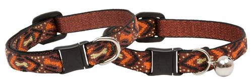 Lupine Cat Collar: Pattern Down Under with or without a bell