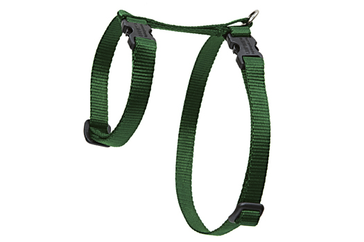 Lupine Cat Harness: Solid Green