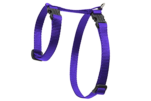 Lupine Cat Harness: Solid Purple