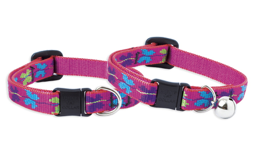 Lupine Cat Collar: Pattern Wing It with or without a bell