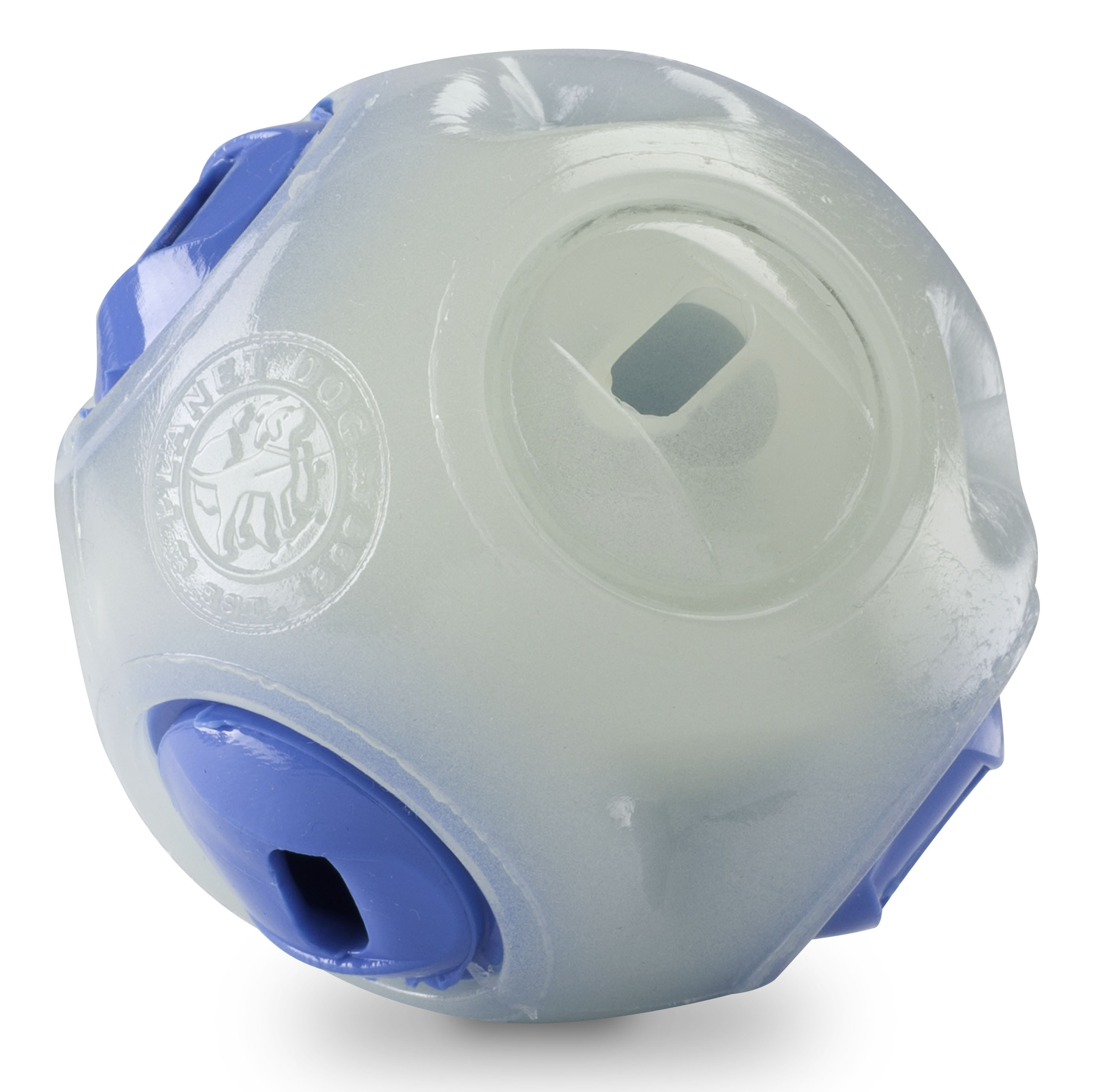Dog Toy: Whistle Ball