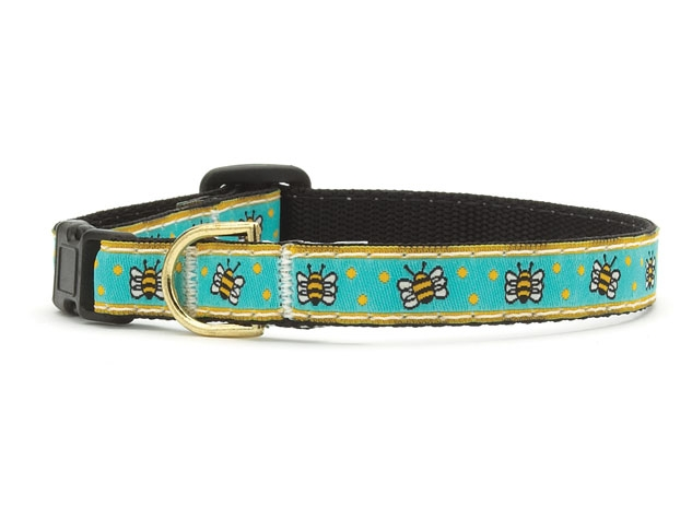 Up Country Cat Collar: Bees