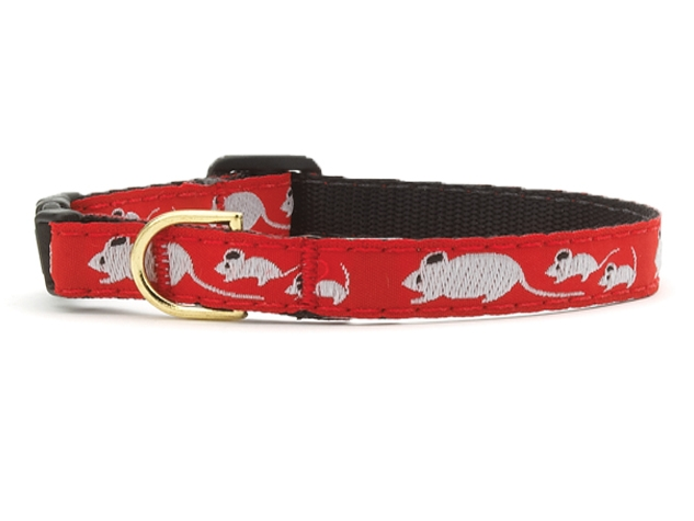 Up Country Cat Collar: Mouse