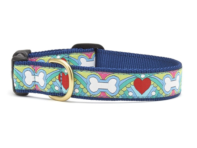 "Dog Collars: 5/8"" or 1"" Wide Coloring Book Collar"
