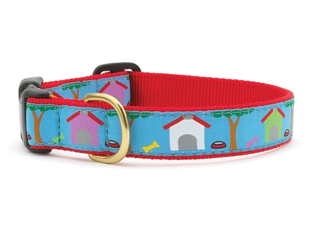 "Dog Collars: 5/8"" or 1"" Wide Neighbors Buckle Clip Collar"