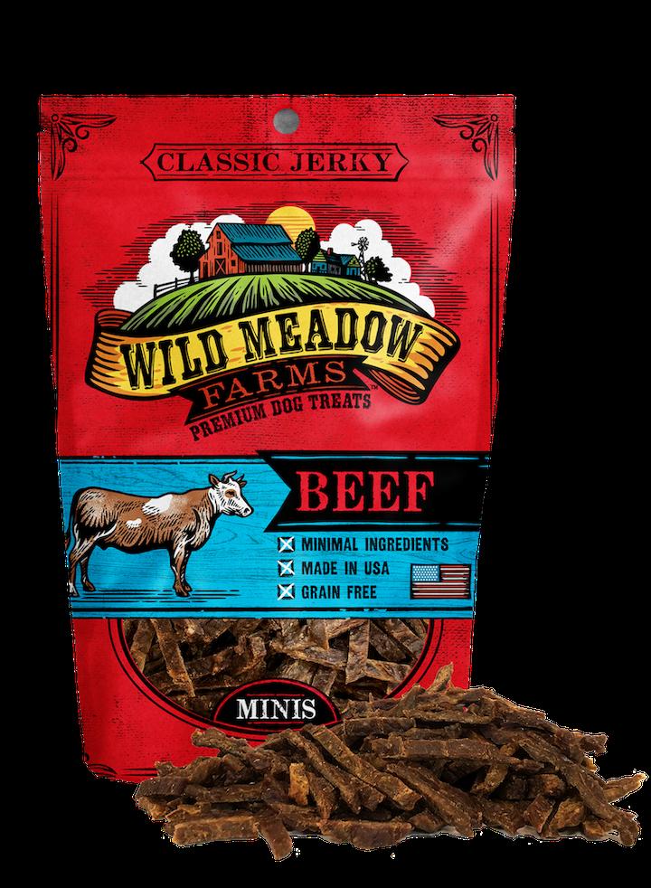 Treats: Minis Classic Jerky Lamb