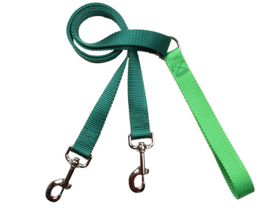 4-Configuration Freedom Training Leash: Matches Kelly Green Harn