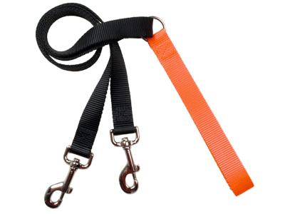 4-Configuration Freedom Training Leash: Matches Rust/Pumpkin Har