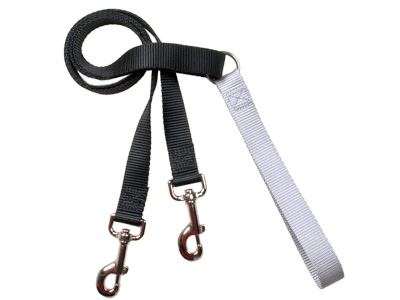 4-Configuration Freedom Training Leash: Matches Silver Harness