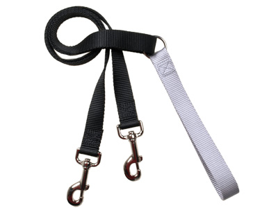 4-Configuration Freedom Training Leash: Matches Black Harness