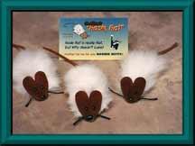 Cat Toy:  Rosie Flat Rat
