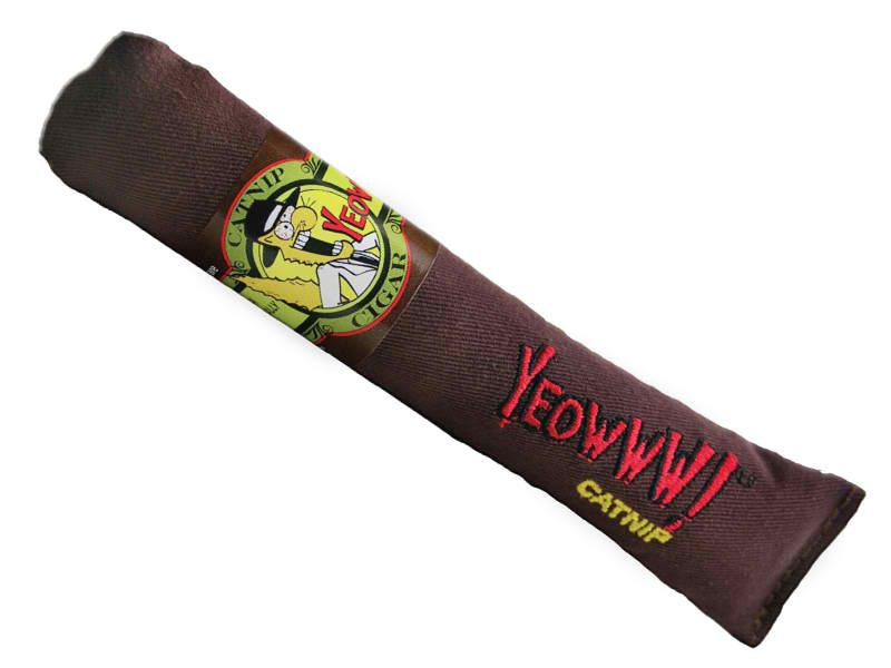 Cat Toy:  YEOWWWWW Cigar Organic Catnip Toy