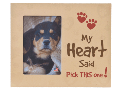 "Gifts: Picture Frame ""My Heart Said Pick This One!"""