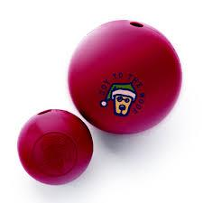 Dog Toy: Holiday Life is Good Rocket Ball by Planet Dog