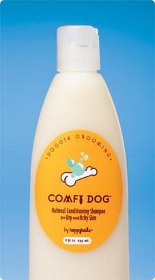 Spa:  Comfy Dog Conditioning Oatmeal Shampoo